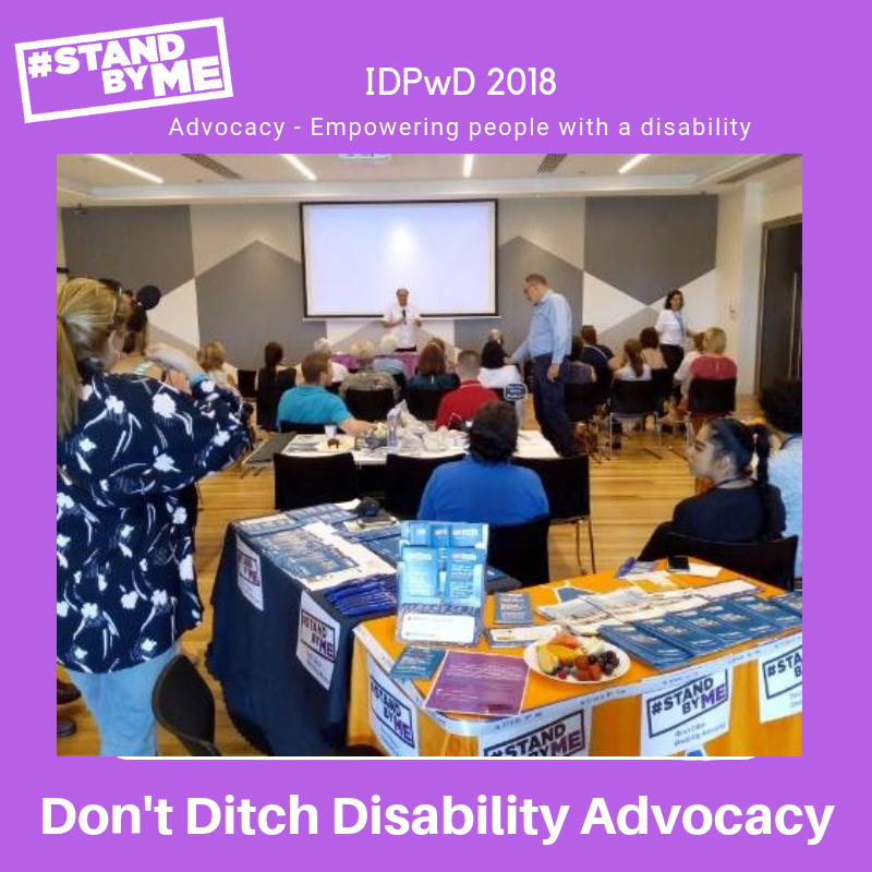 PossABLE Advocacy team from Campbelltown was part of the IDPWD community event held in Camden.