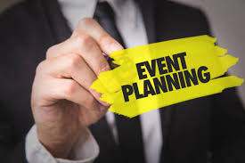 Event planning text with Yellow highlight