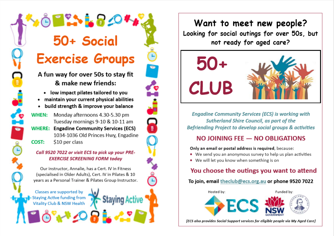 50 Social Exercise Groups