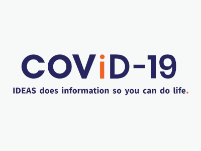 Text Saying COVID-19