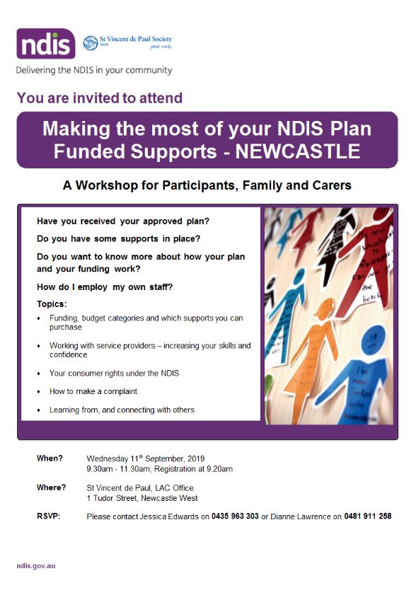 Making the most of your NDIS plan Funded Supports