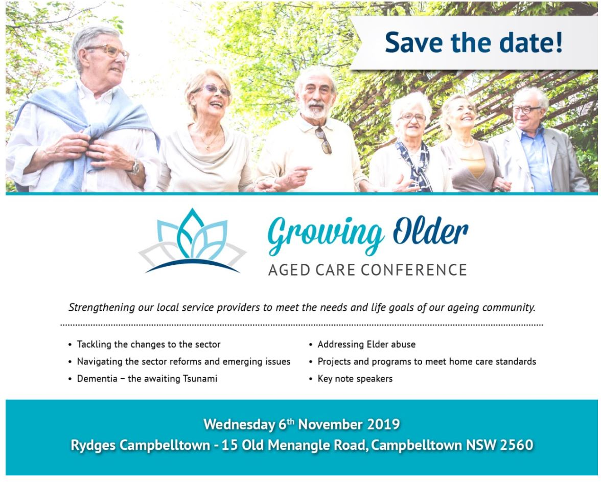 Growing Older Aged Care Conference