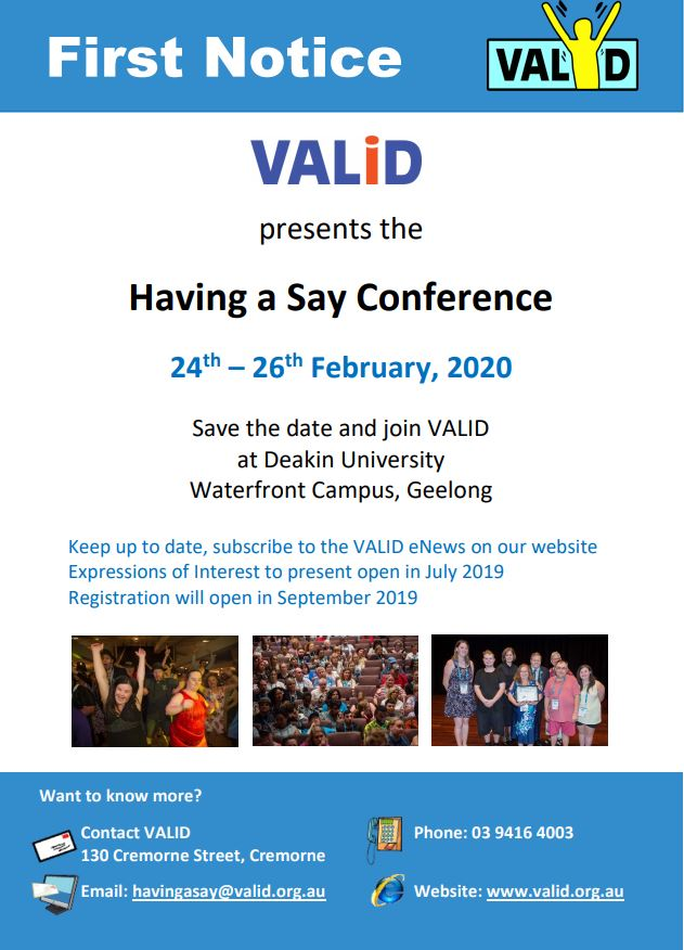 Having a Say Conference 2