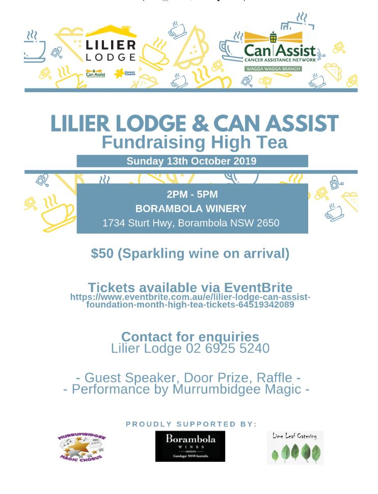 Lilier Lodge Can Assist