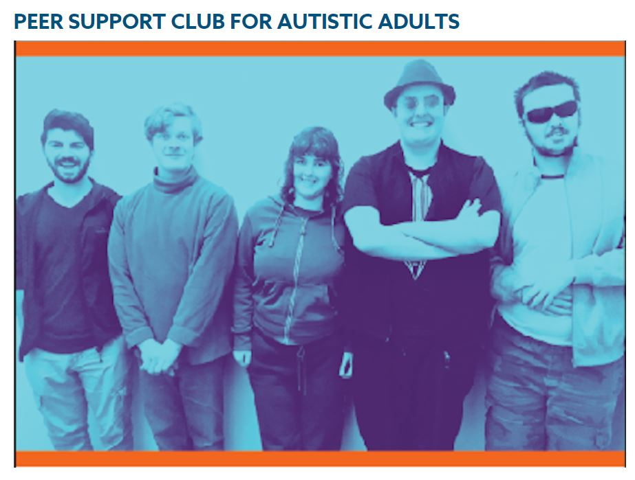 Peer Support for Adults with Autism