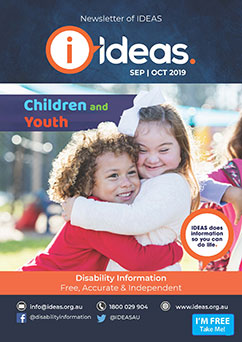 Newsletter of IDEAS Sep Oct 2019 front cover small