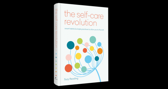 "A view of the book cover and Spine for ""The Self Care Revolution"" by Suzy Reading"