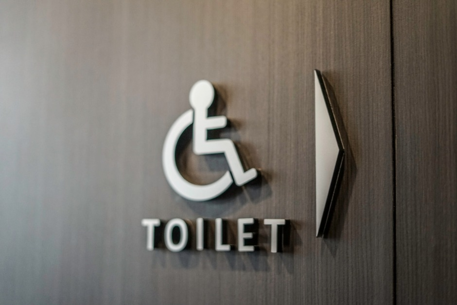 Disability Toilet Sign