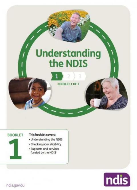 Understanding the NDIS circle road with a picture of 3 people