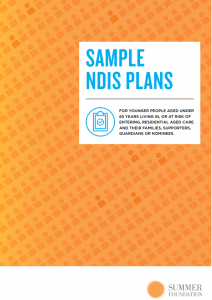 Sample NDIS Plans