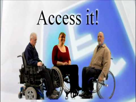 3 people in wheelchairs