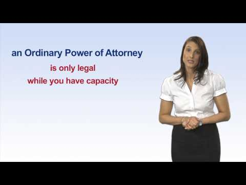 Making a Power of Attorney