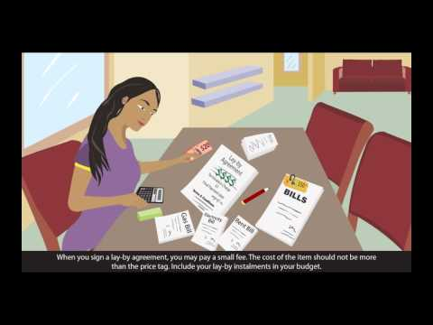 Cartoon image of a lady sitting at a desk with a calculater paying bills