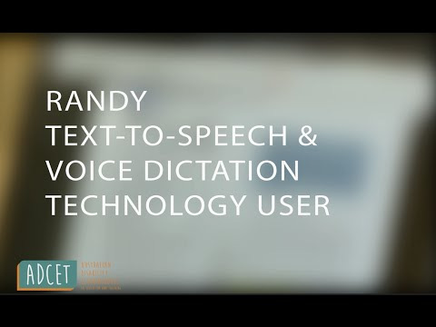 Text-to-speech and voice dictation technology: Uni student experience