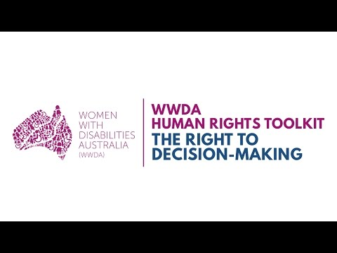 Women with Disability Speak About The Right to Decision-Making
