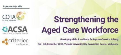Strengthening the Aged Care Workforce Image