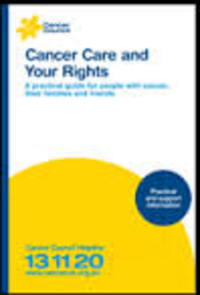 Cancer Care and Your Rights