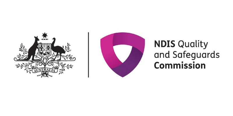 NDIS Quality and Safeguards Commission and Australian Government logos
