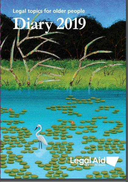Front cover of Diary 2019