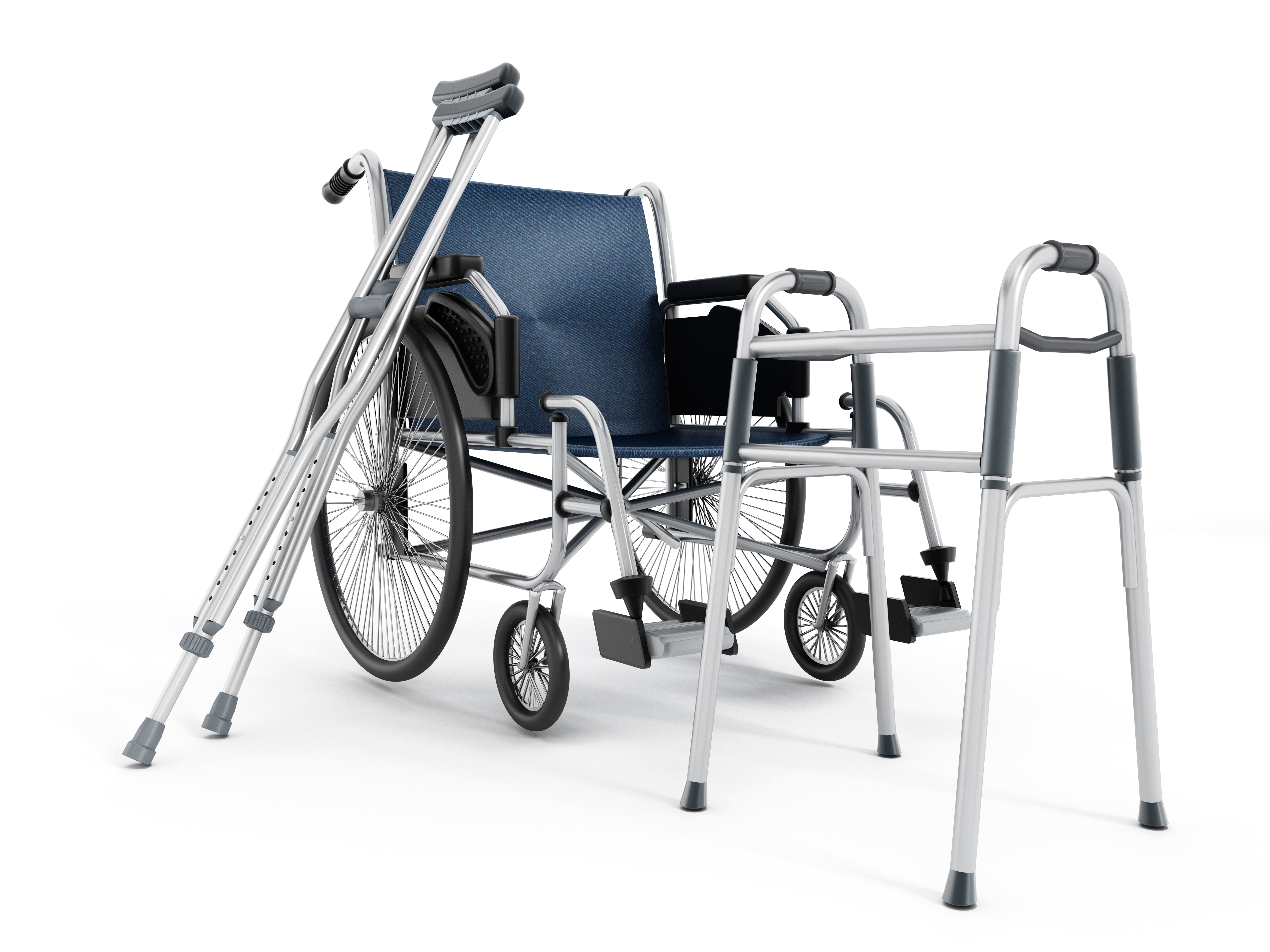 Wheelchair, walker