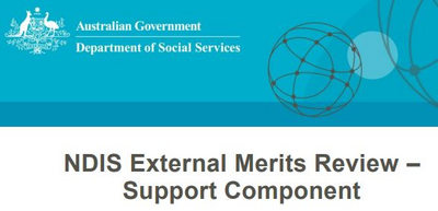 NDIS External Merits Review – Support Component
