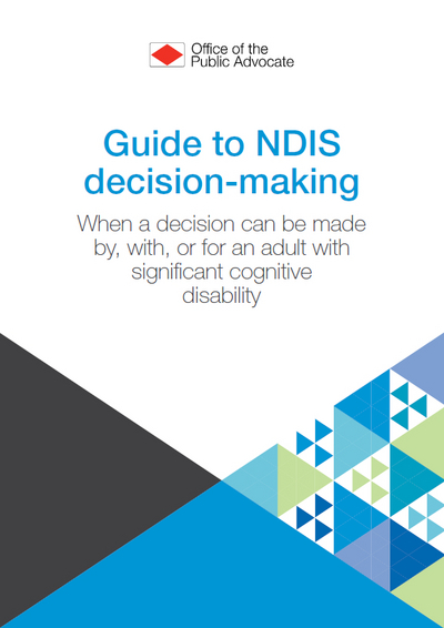 Guide to NDIS decision-making