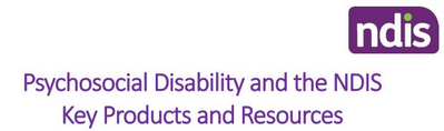 Psychosocial Disability Products and Resources